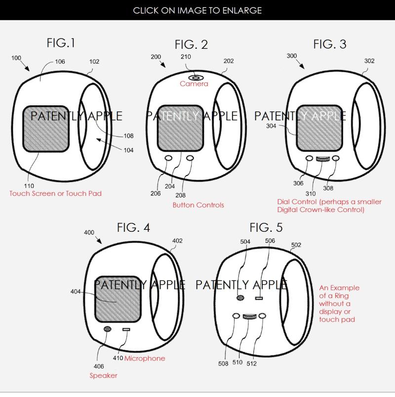 Apple Ring, brevet