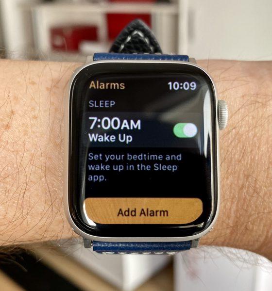 Apple Watch suivi du sommeil
