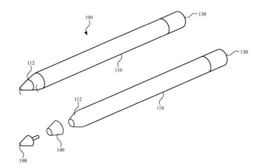 Apple Pencil brevet