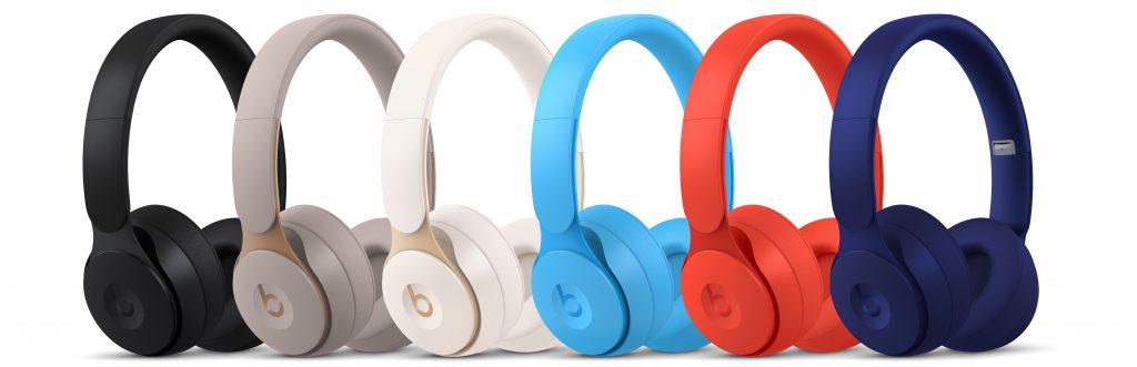 les coloris du casque Beats Solo Pro