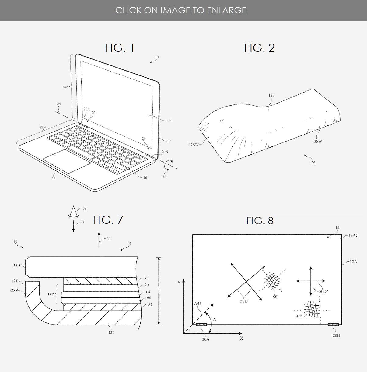 Brevet Apple MacBook Air finesse
