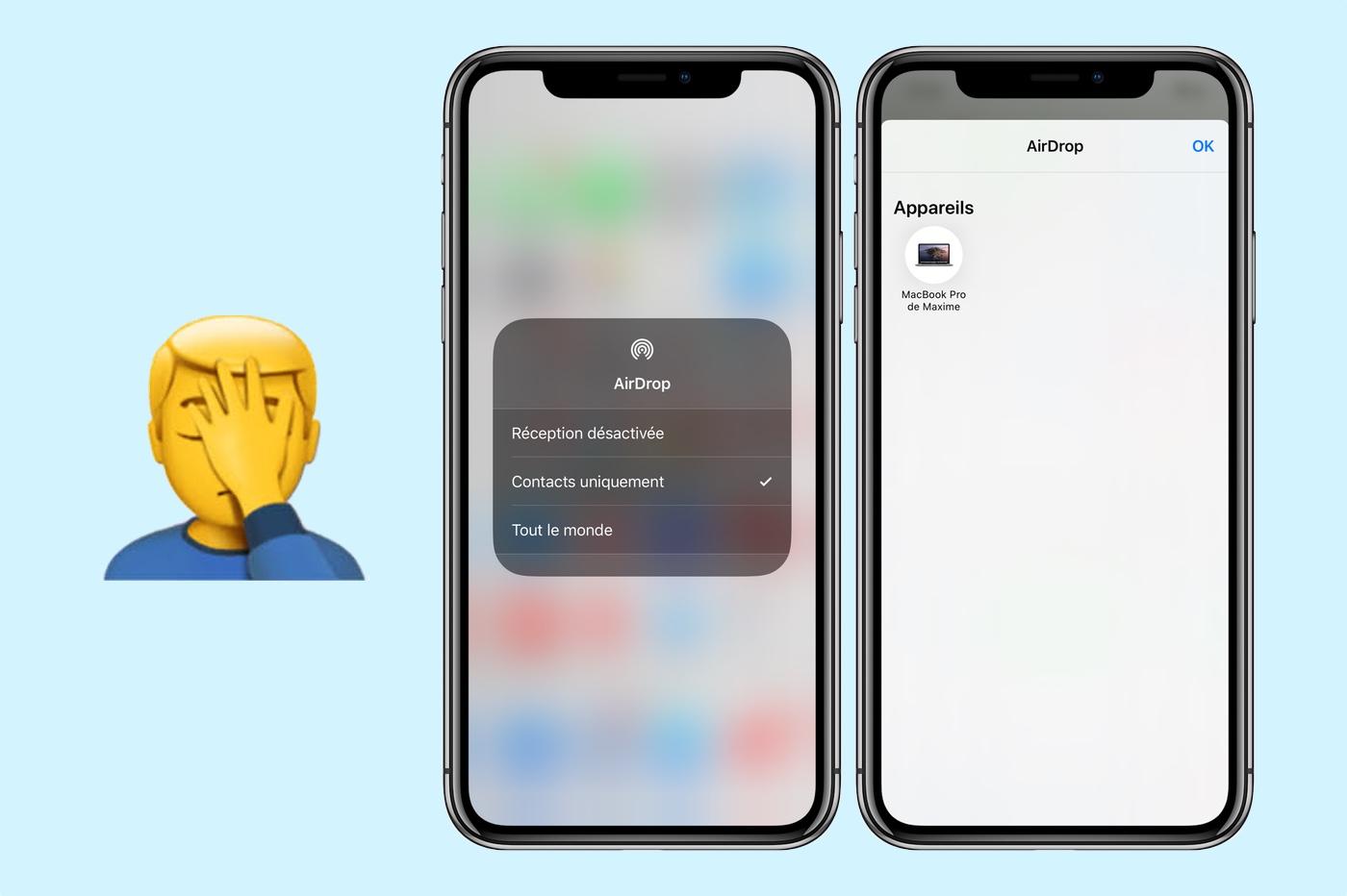 iPhone 11 et 11 Pro : AirDrop ne fonctionne plus ? C'est un nouveau bug d'iOS 13.1.3 1