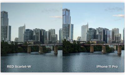 Vidéo : l'iPhone 11 Pro comparé à une caméra RED à 10k dollars 3