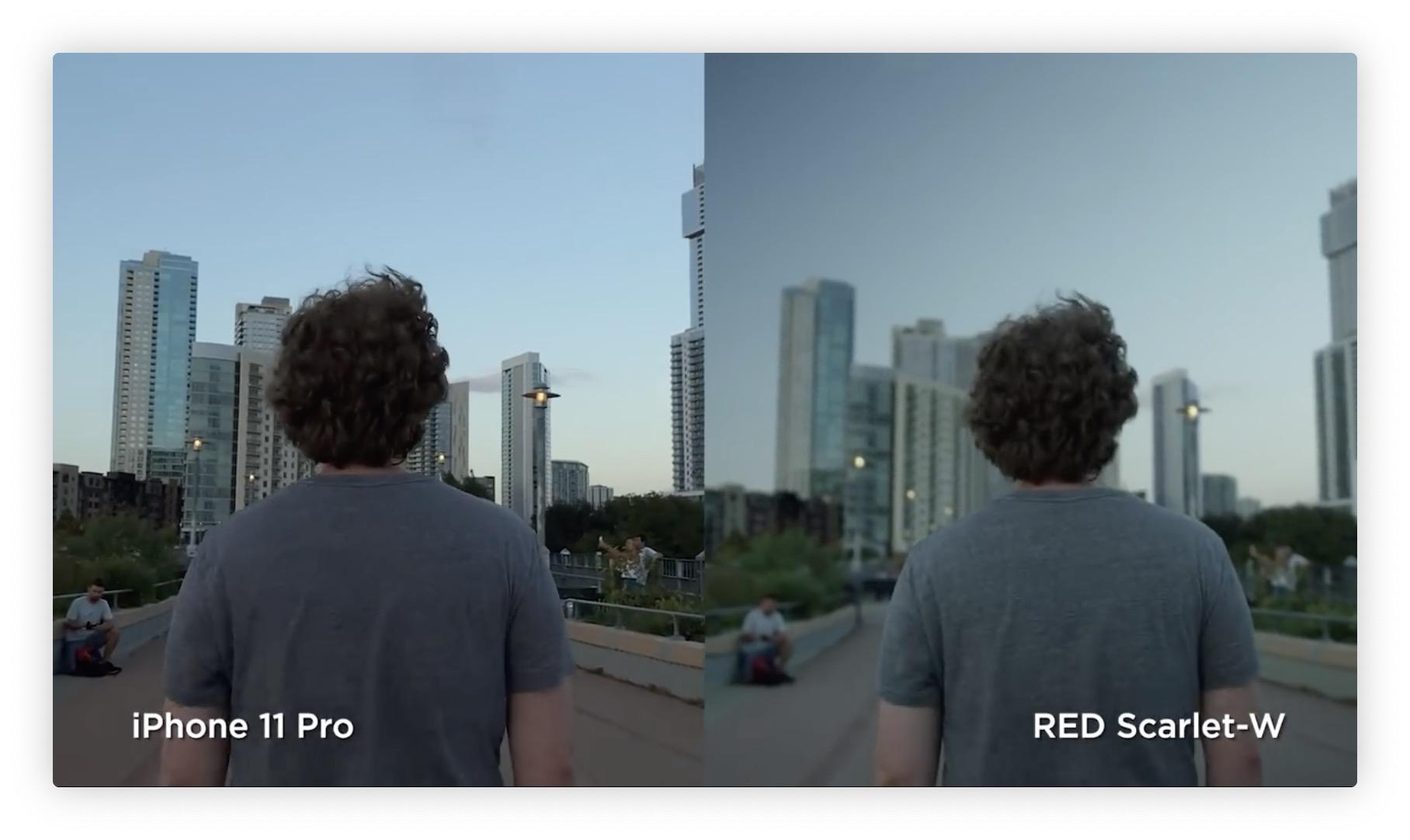 Vidéo: l'iPhone 11 Pro comparé à une caméra RED à 10k dollars 3