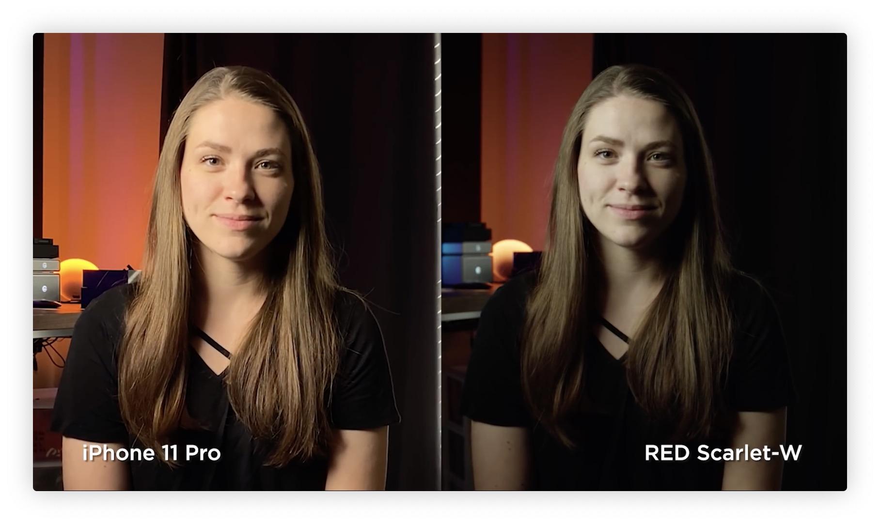 Vidéo: l'iPhone 11 Pro comparé à une caméra RED à 10k dollars 6