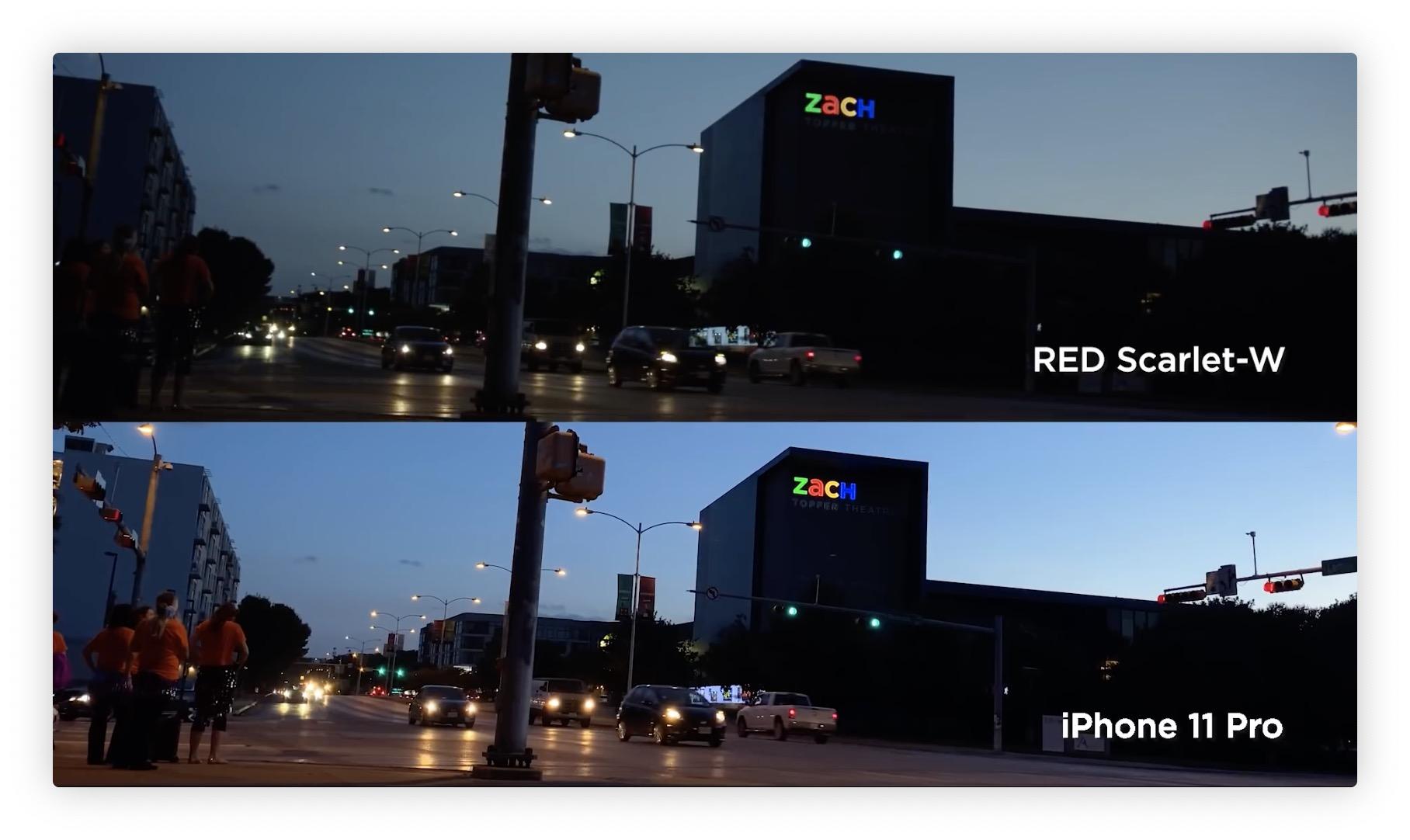 Vidéo: l'iPhone 11 Pro comparé à une caméra RED à 10k dollars 7