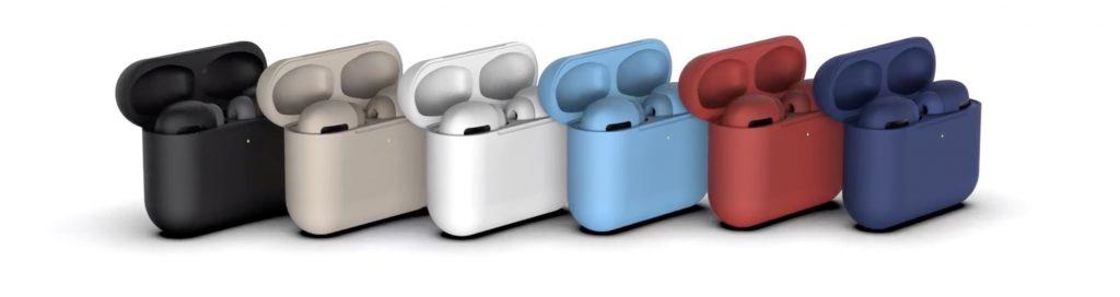 concept coloris AirPods Pro