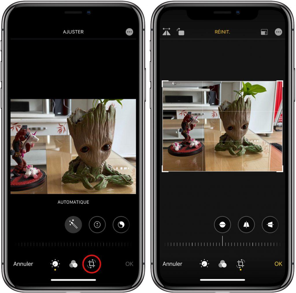 fonction cachée photo et vidéo sur iPhone 11 Pro
