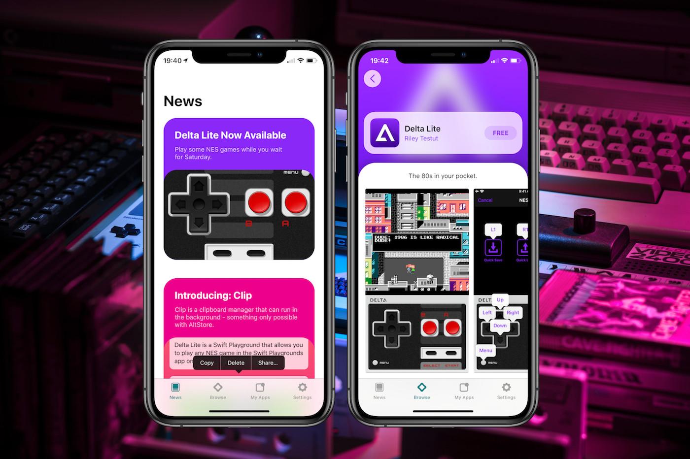 AltStore gameboy iphone