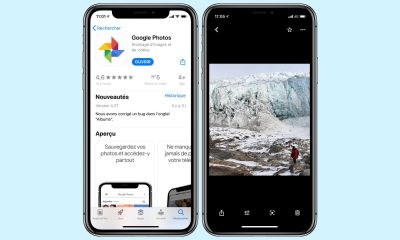 Google Photos sur iPhone