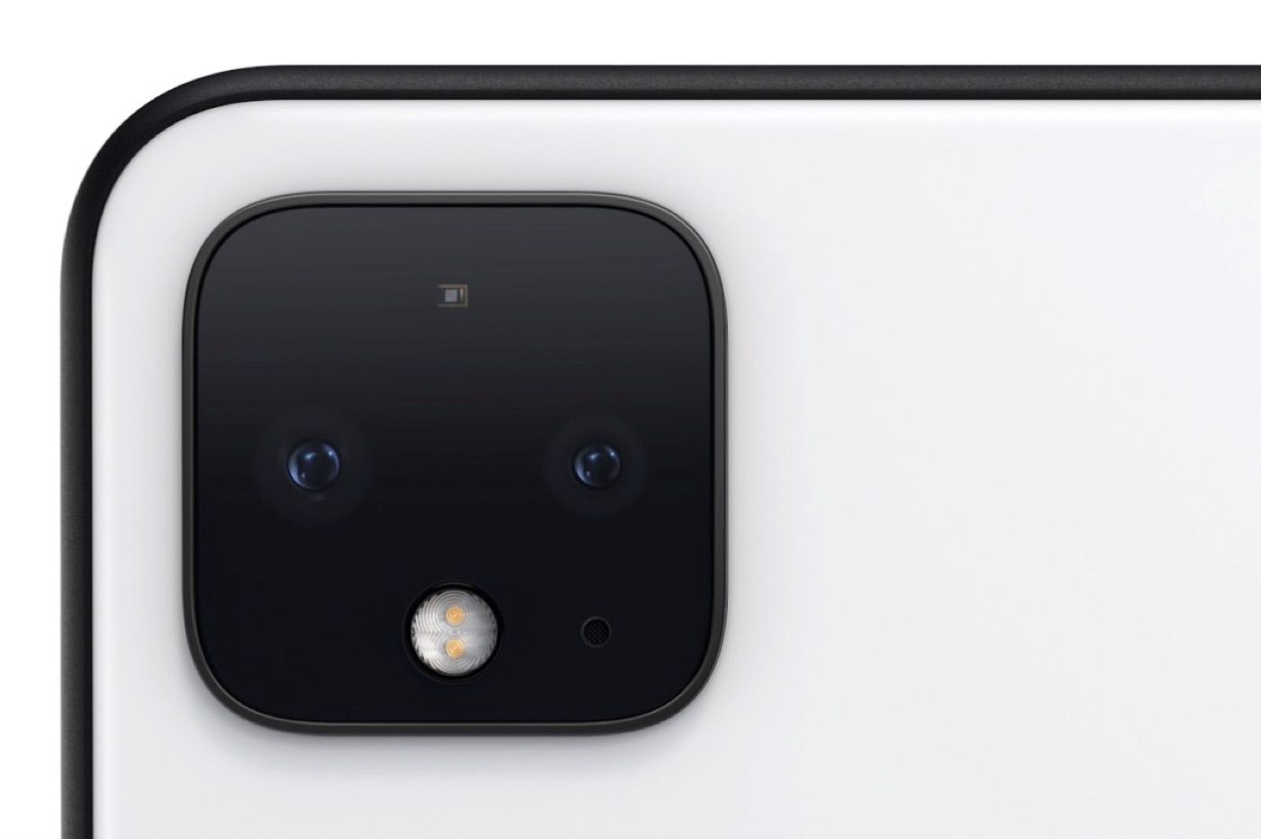 Google Pixel 4 module photo