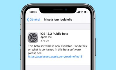 iOS 13.2 beta publique