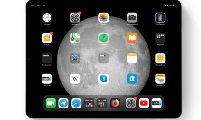 iPadOS et grosses icônes