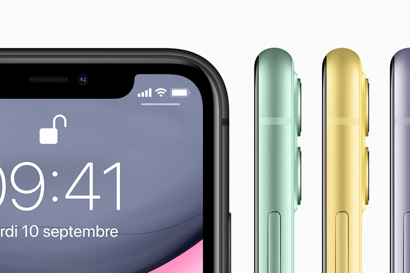 iPhone 11 Apple couleurs