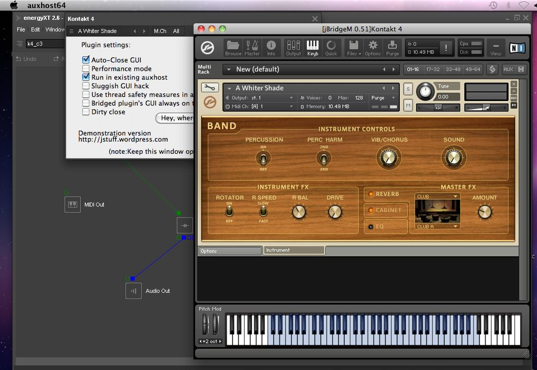 jBridgeM, pont audio 32-64 bits