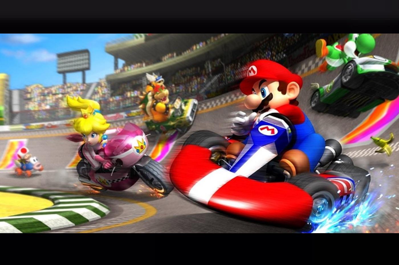 Mario Kart Tour jeu mobile de Nintendo