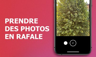 Prendre photos en rafale