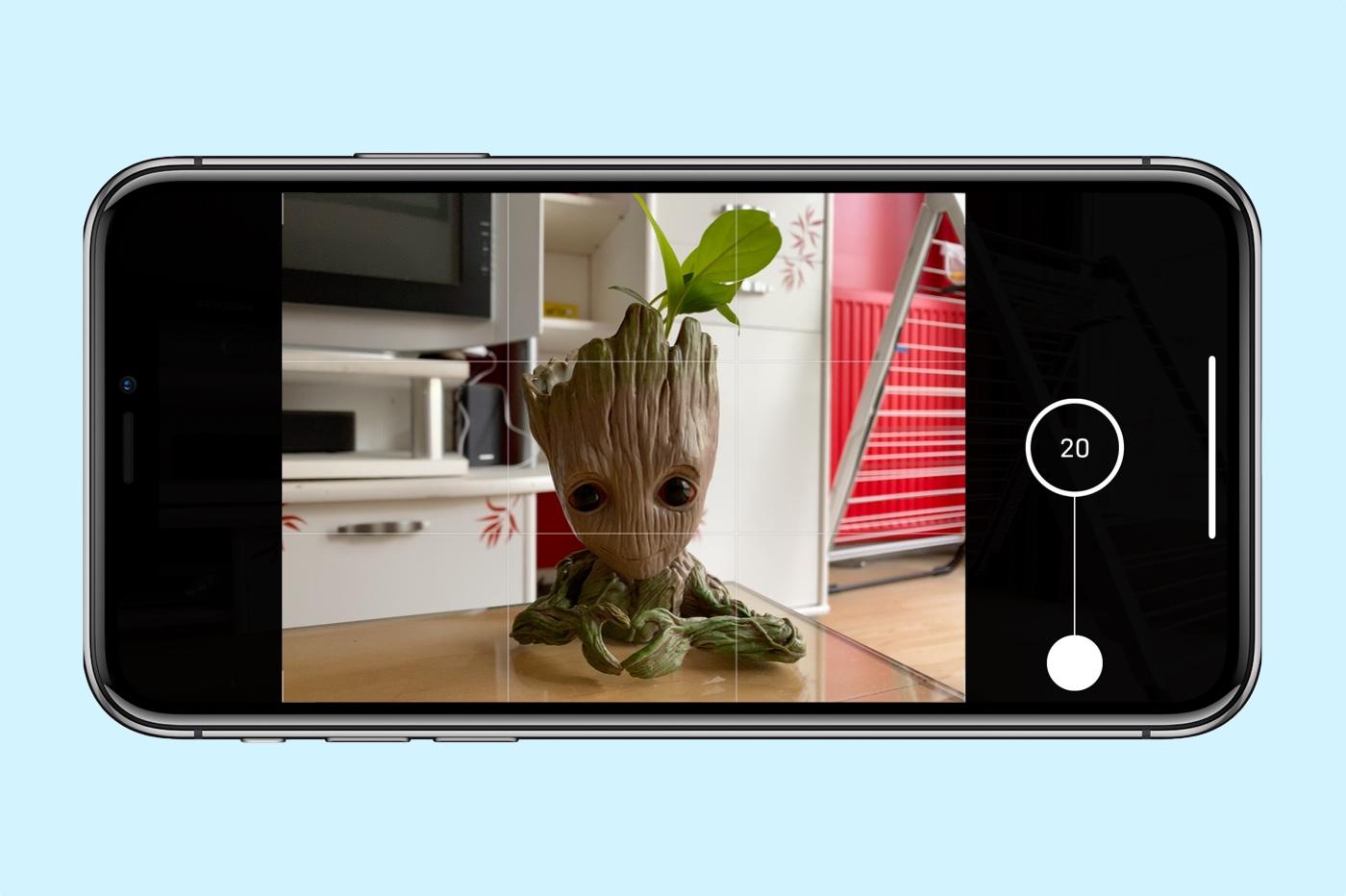 mode photos en rafale sur iPhone 11 et 11 Pro