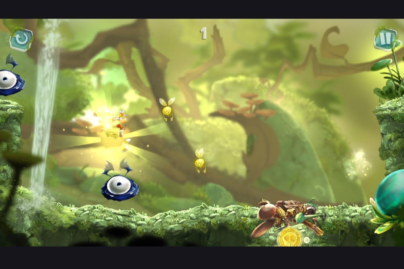 Rayman Mini sur Apple Arcade