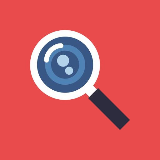 SearchCam: trouver un mot-clé sur un objet réel avec la caméra de l'iPhone 1