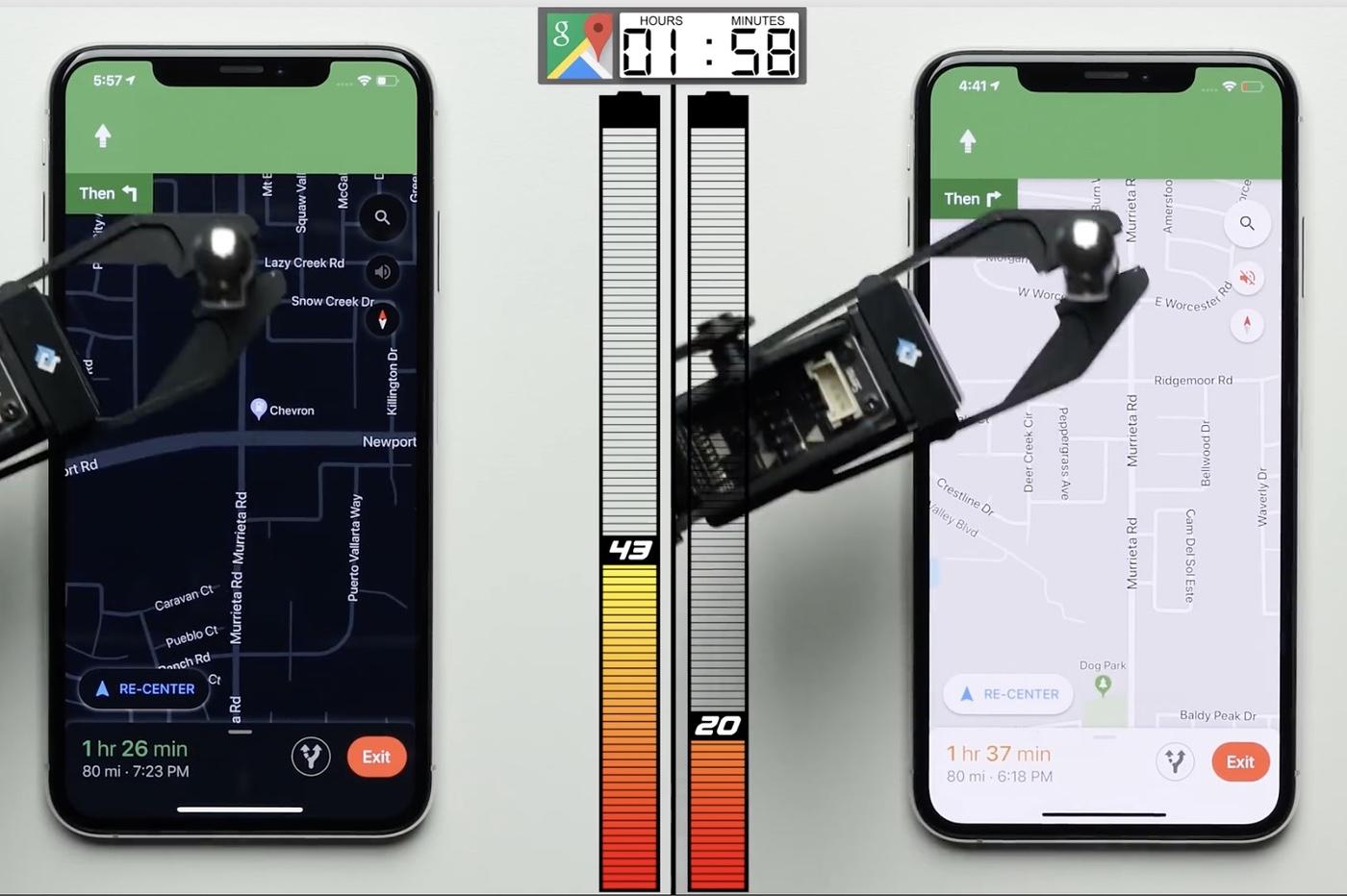 Vidéo : 30 % d'autonomie en plus avec le mode sombre d'iOS 13 (et un écran OLED) 1