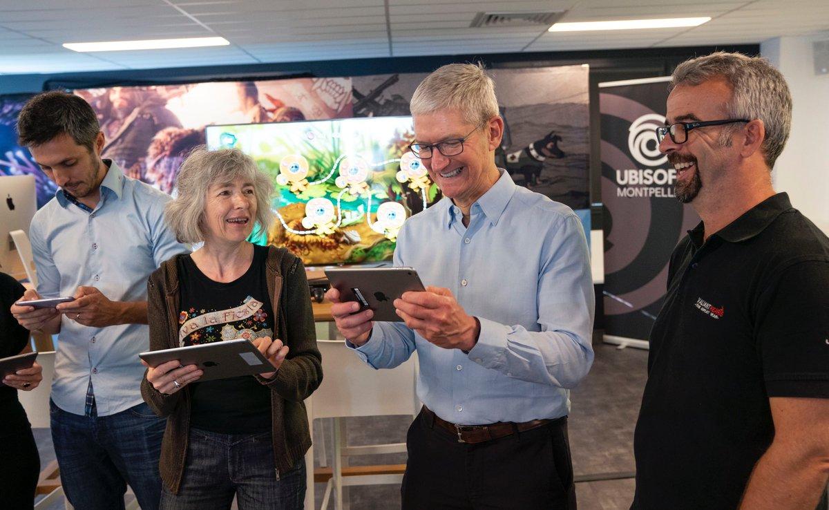 Tim Cook chez Ubisoft