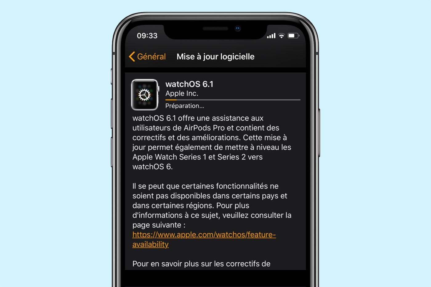 watchOS 6.1
