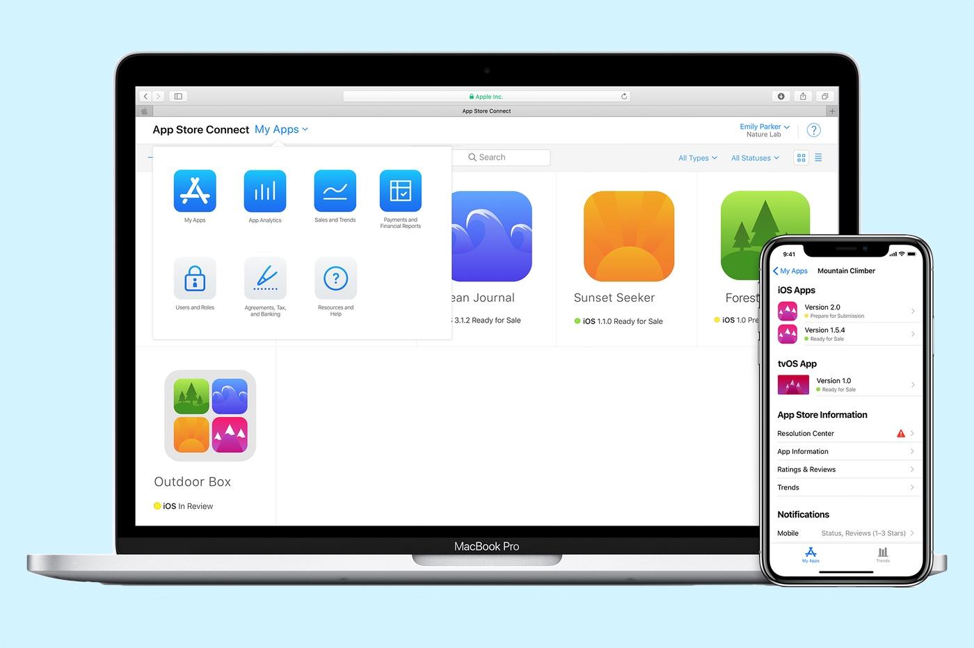 App Store Connect fermé Noel