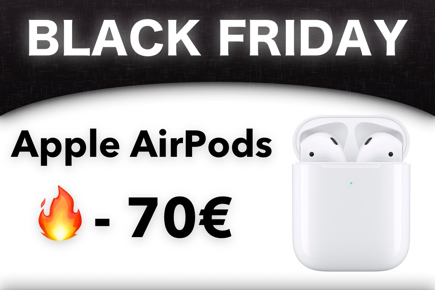 Black Friday : -70 € sur les AirPods d'Apple, il en reste encore ! 1