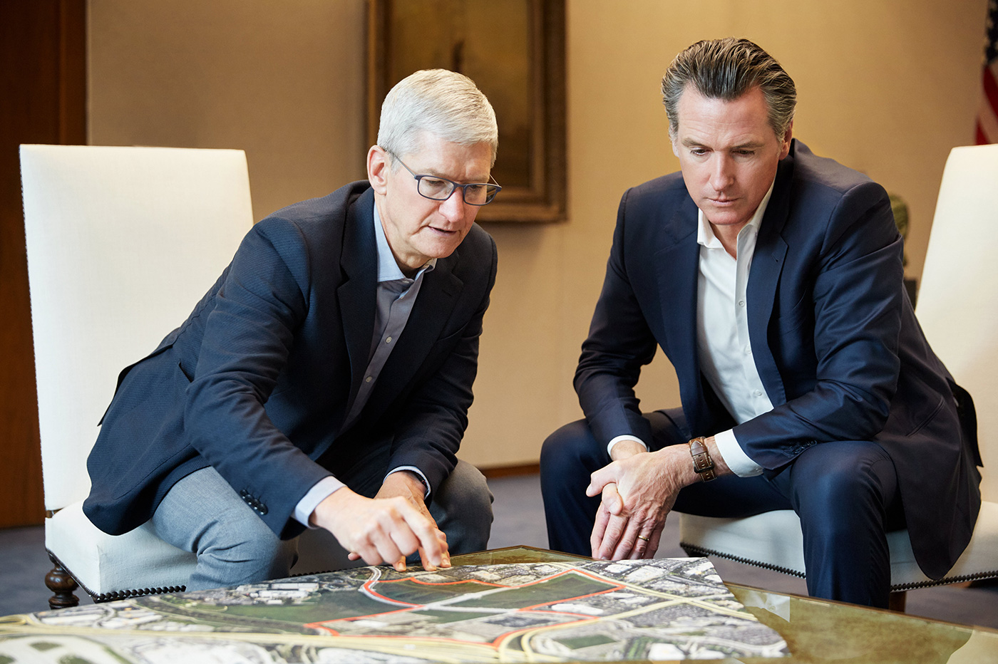Apple crise logement Californie