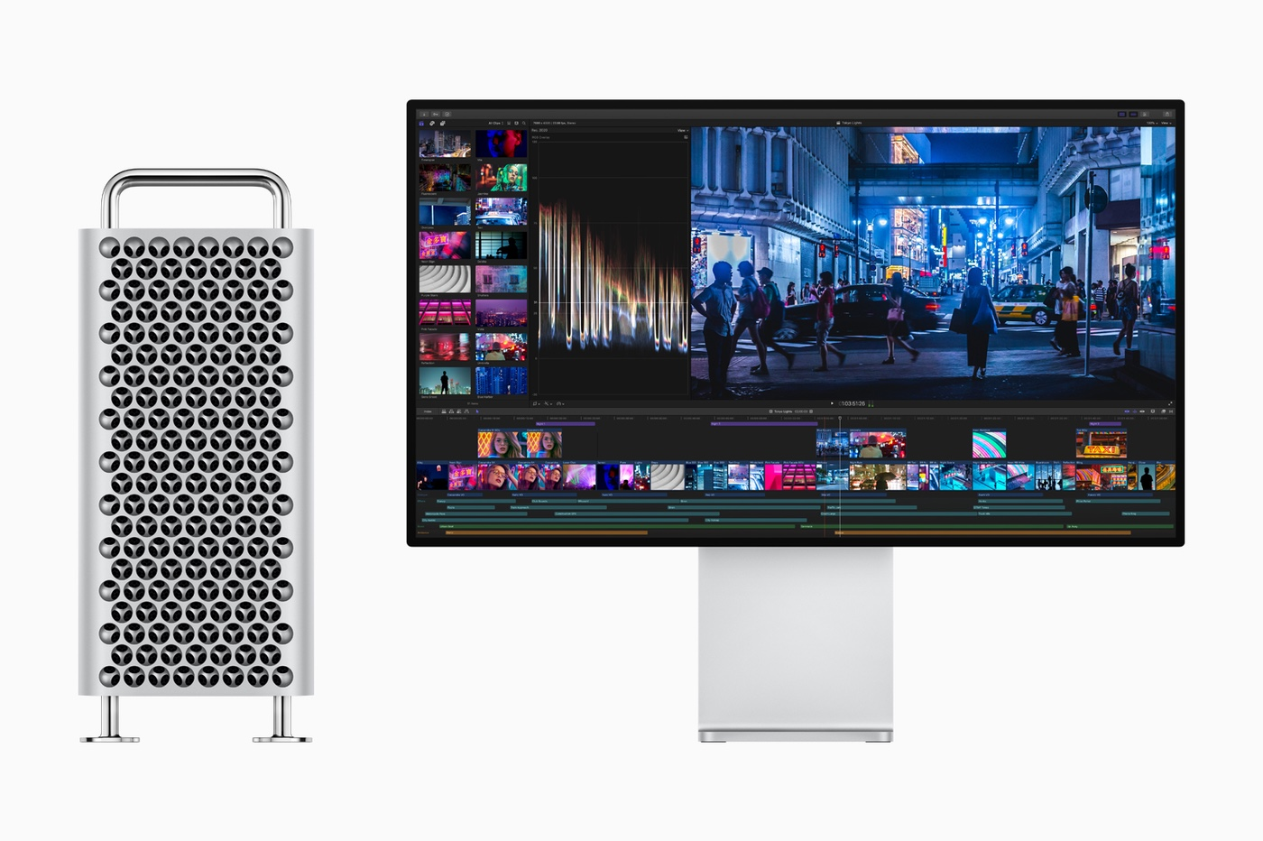 Mac Pro et écran XDR