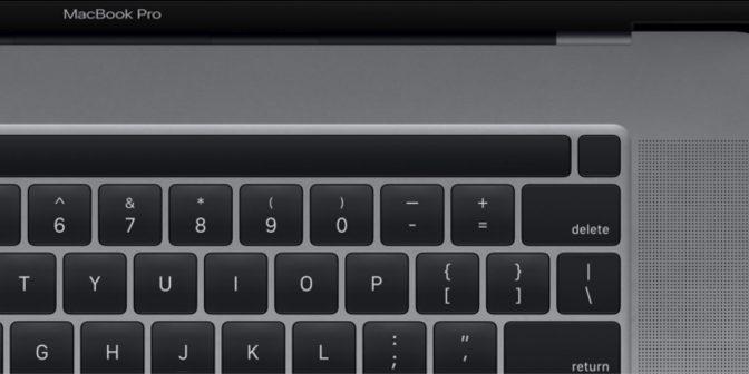 Apple MacBook Pro 16 pouces Touchbar