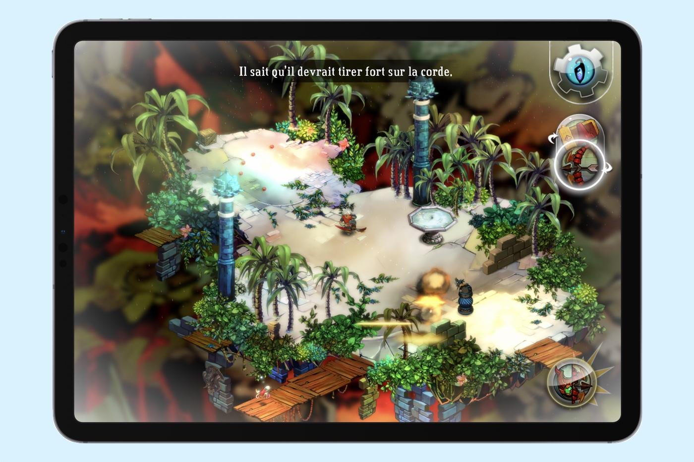 Bastion jeu iOS