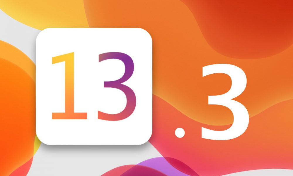 iOS 13.3 bêta version