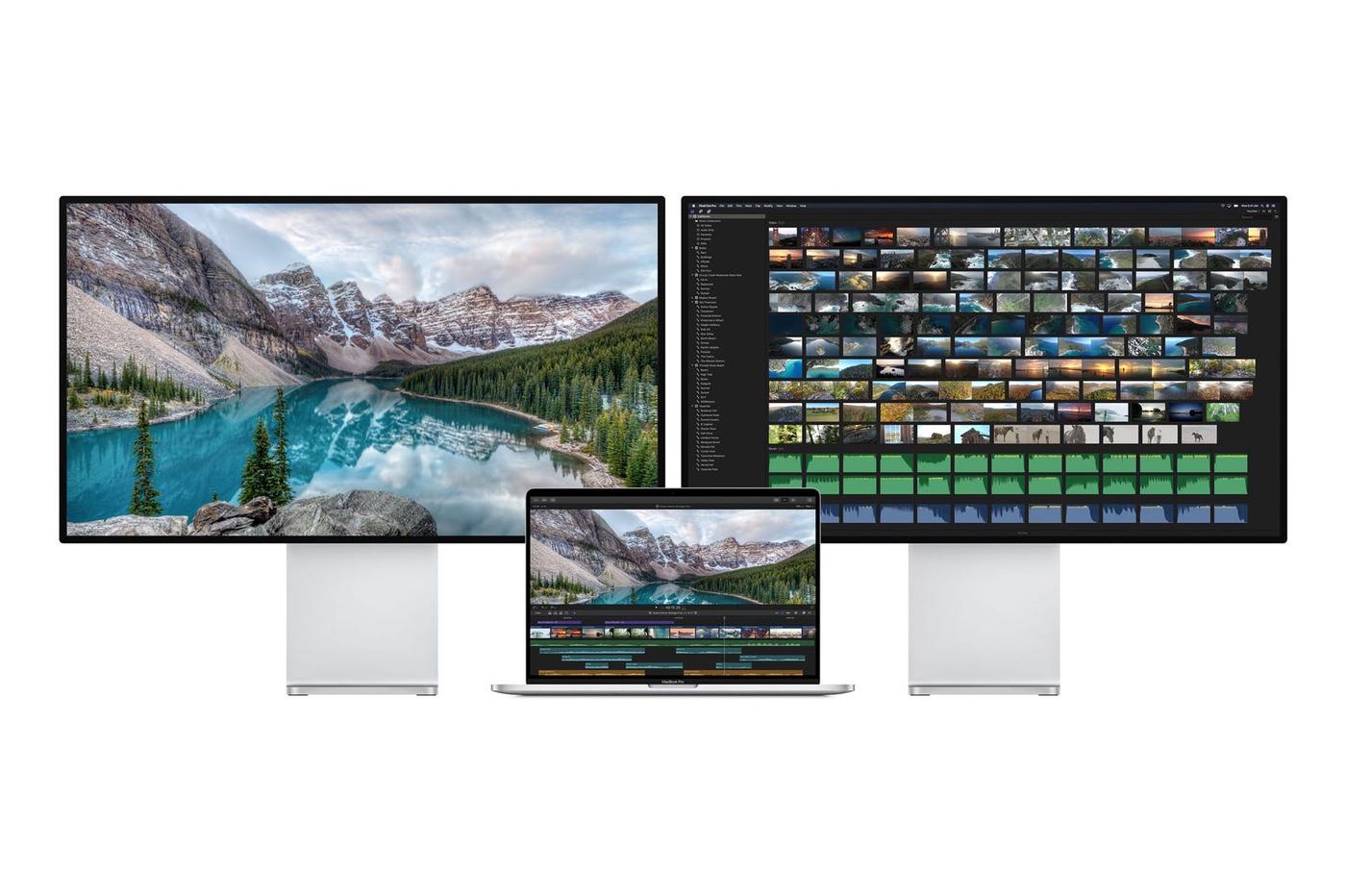 Le MacBook Pro 16 pouces supporte deux écrans externes 6K 1
