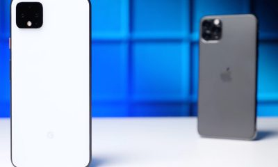 Comparatif Google Pixel 4 vs iPhone 11 Pro Max