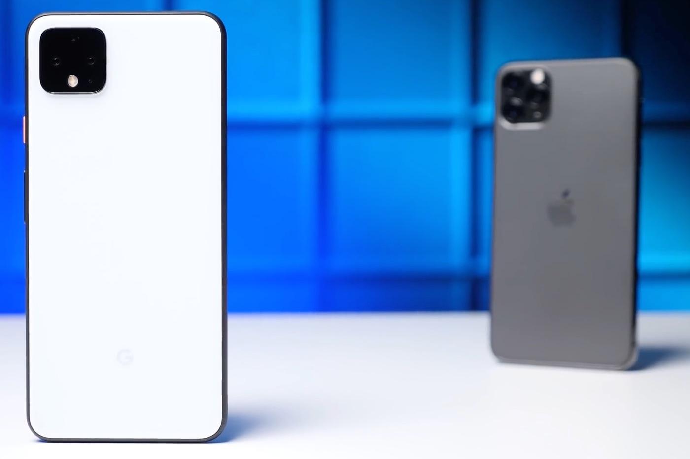 Comparatif Google Pixel 4 vs iPhone 11 Pro Max