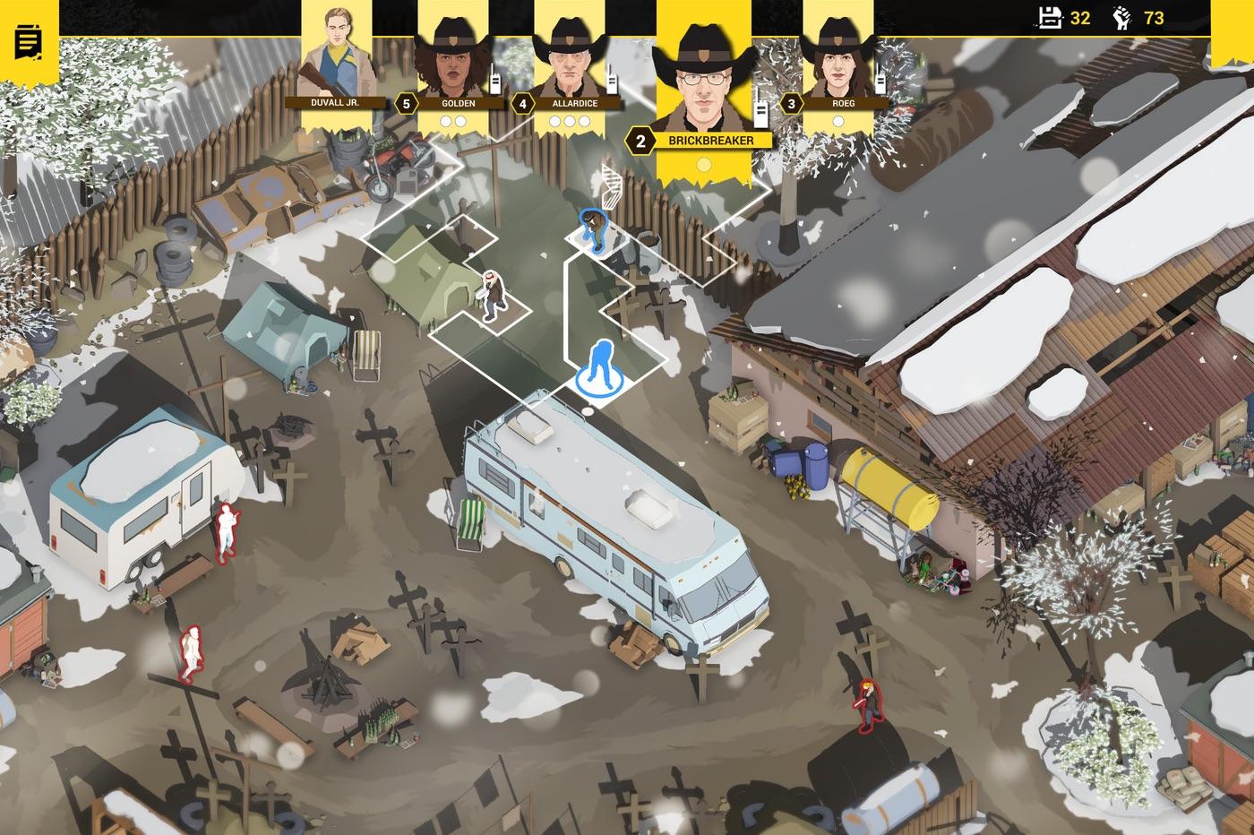 Capture écran Rebel Cops, jeu de stratégie iOS
