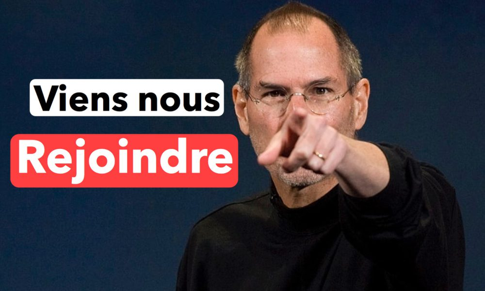recrutement Steve Jobs