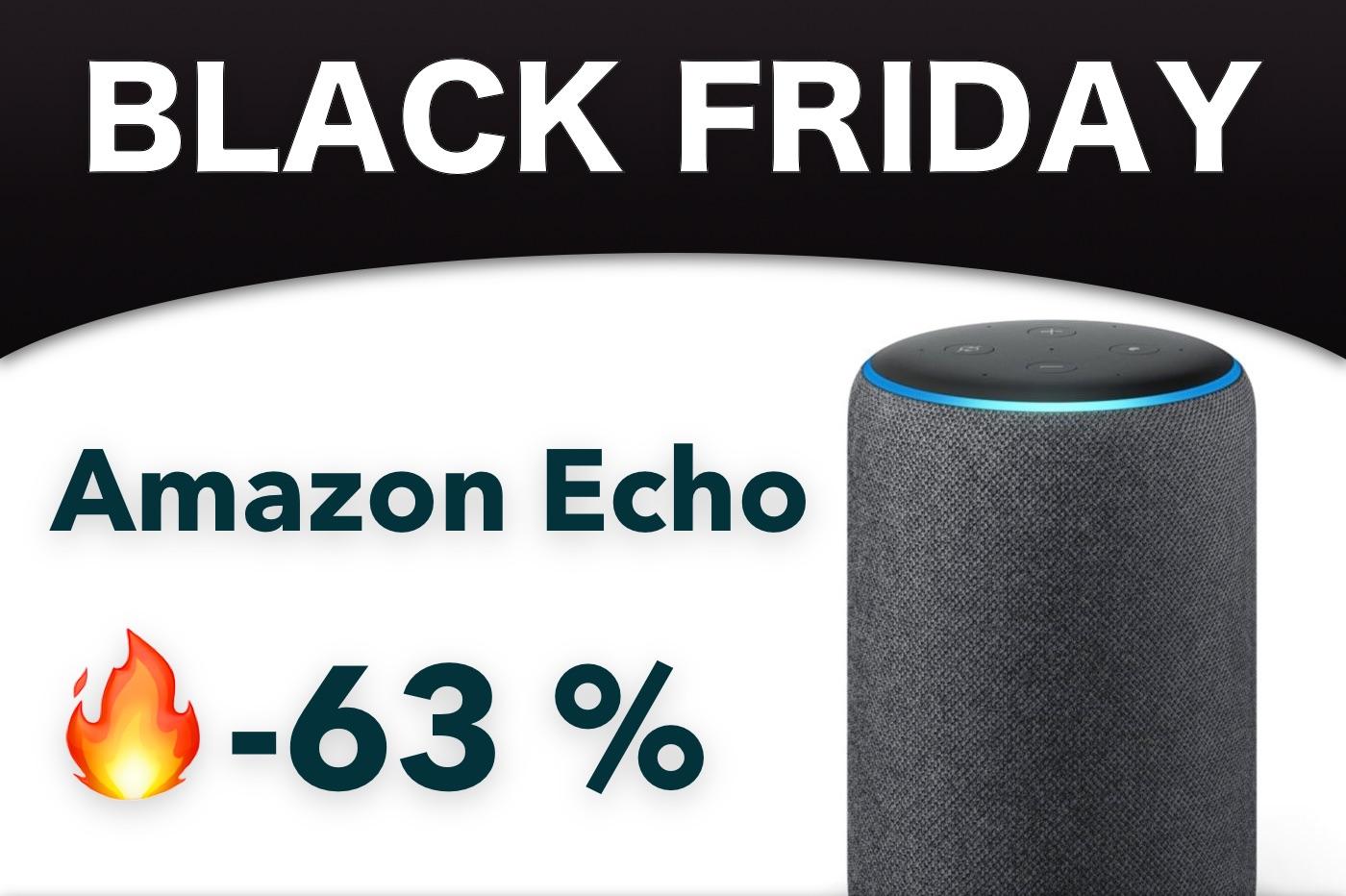 Black Friday Amazon Echo