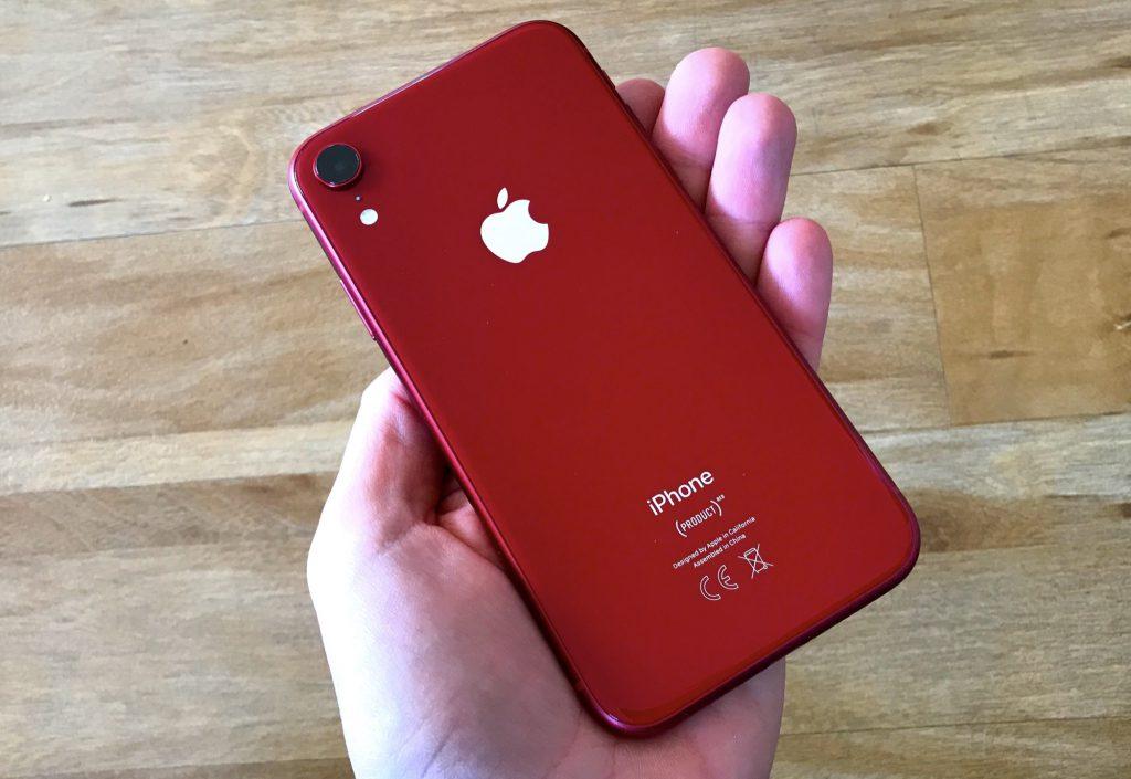 Face arrière iPhone XR