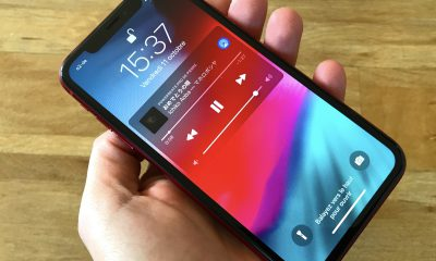 Face avant widget iPhone XR