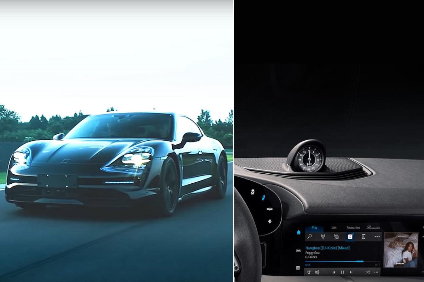 Porsche Taycan Apple Music