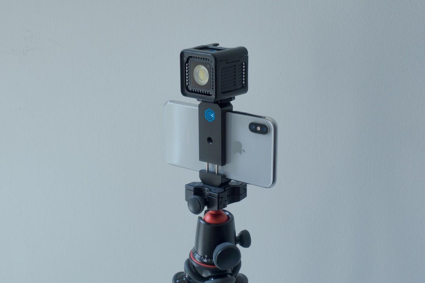 accessoire lumière iPhone