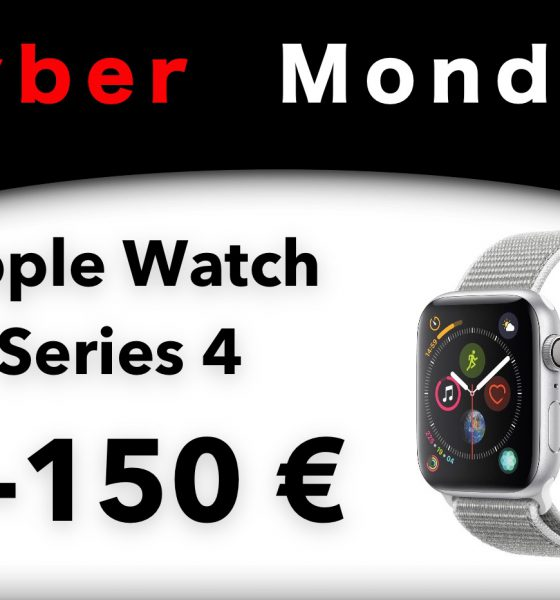 Cyber Monday Apple Watch Series 4