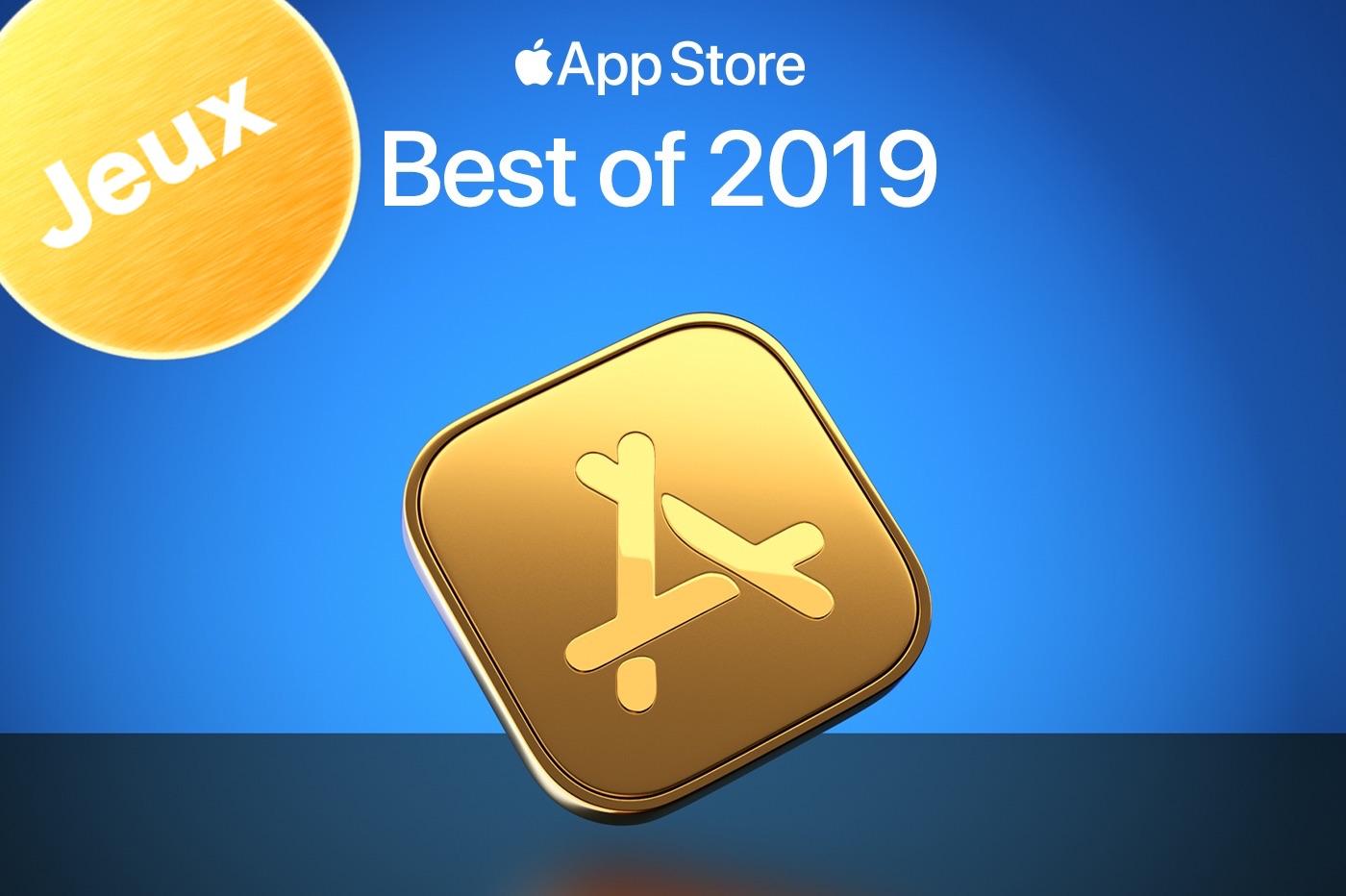 Apple best-of App Store 2019 jeux