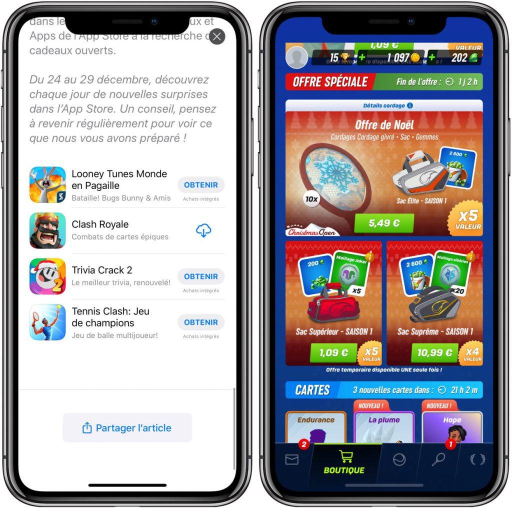 cadeau 4ème jour dans App Store