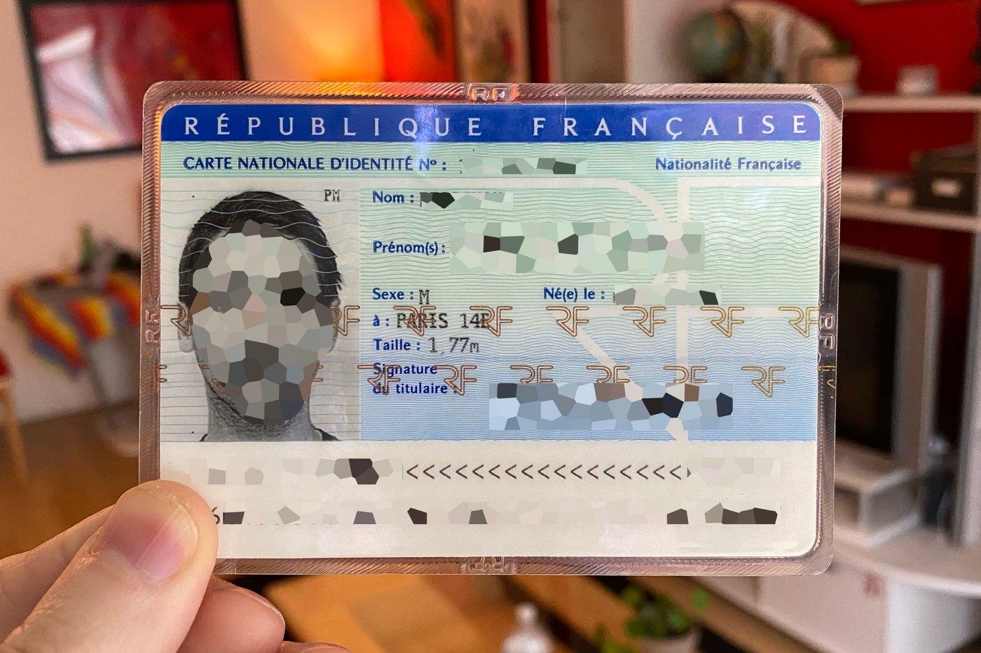 carte d'identité française