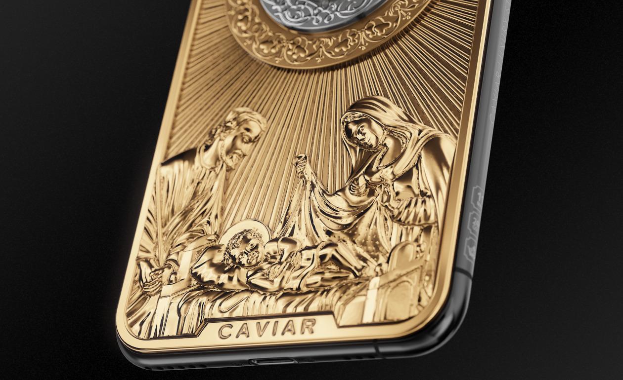 iPhone 11 Pro édition Noël de Caviar