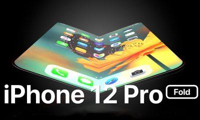 concept iPhone 12 Pro pliable